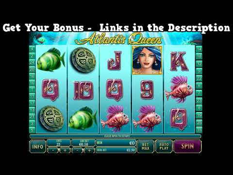 Atlantis Queen Slot Game Online - Play 2500  Best Online Slots - Compatible with PC and Mac