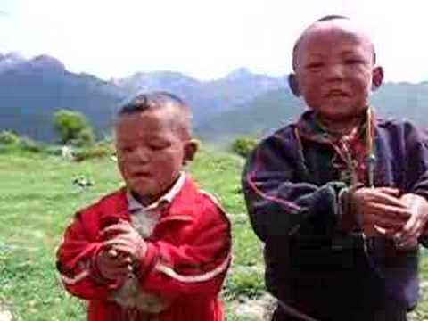 Hello and Pish Pash From Langmusi, Gansu Province, China (Eastern Tibet)