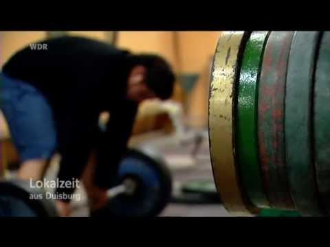 Lokalzeit aus Duisburg Powerlifter aus Duisburg 8000 Kalorien für den Sport