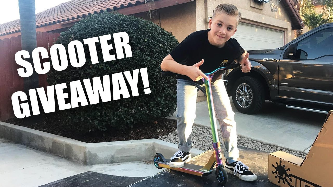 Ryan williams scooter giveaways