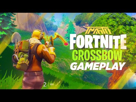 CROSSBOW GAMEPLAY IN FORTNITE: BATTLE ROYALE (Is It Good?)