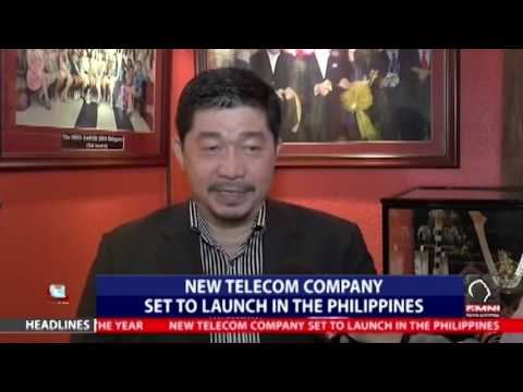 New telecom company set to launch in the  Philippines