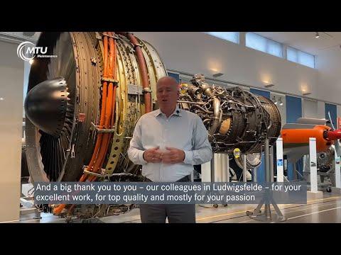 Congratulations from around the world for 30 years of MTU-Maintenance Berlin-Brandenburg