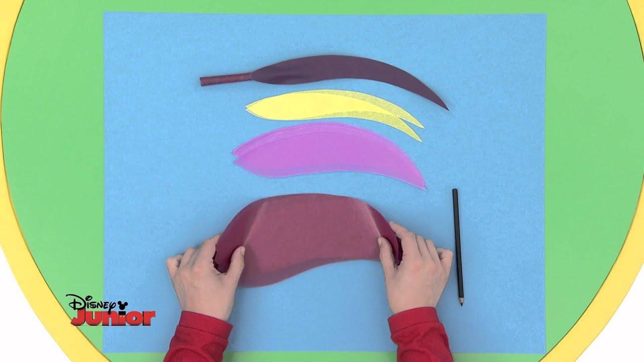 Art Attack Technique De La Plume D écrivain Disney Junior Vf