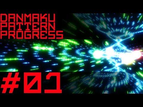 [Blender 3D] Danmaku Pattern Progress #01