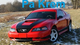 2002 Ford Mustang GT, muscle car, klassik auto.