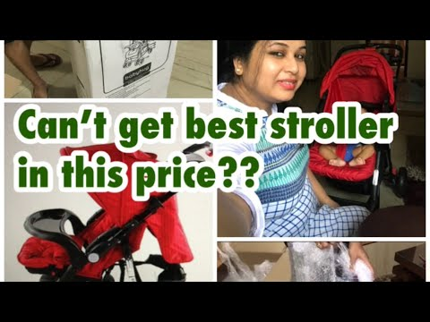 Can't  get best stroller in this price||Baby hug|| hindi| India