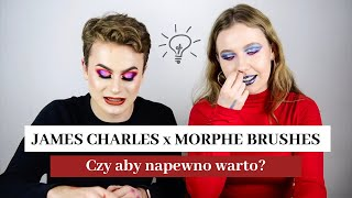 JAMES CHARLES x MORPHE BRUSHES - Wielka recenzja  | Stysio