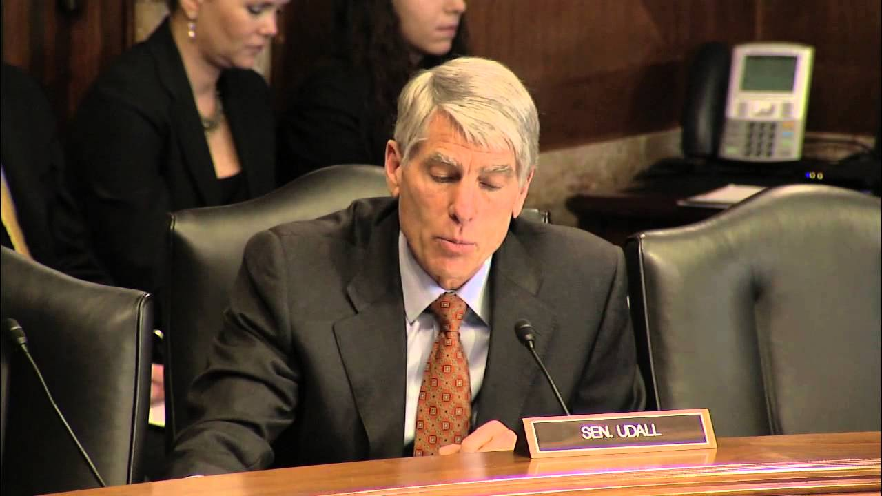 Udall Questions Jewell Nominee for Interior Secretary During
