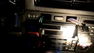 BMW E30 318i 325i 325is 325ix M3 On-board Computer Light Bar Installation BMW 9 Button