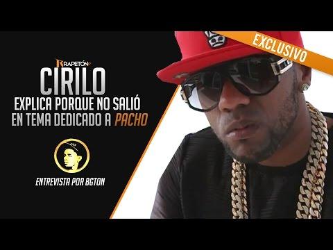 """Cirilo -- explica porque no salió en canción dedicada a Pacho """"Carta Pa' Un Hermano"""" [AUDIO]"""