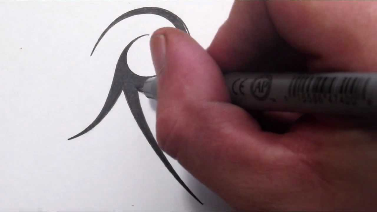 Simple Tattoos Designs For Alphabet L