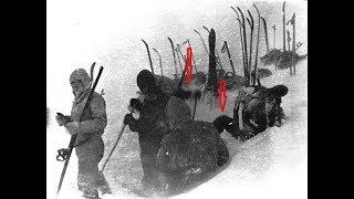 Группа Дятлова. Мысли по фото установки палатки