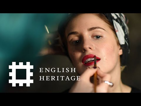 1940s World War II Makeup Tutorial | History Inspired | Feat. Amber Butchart and Rebecca Butterworth thumbnail