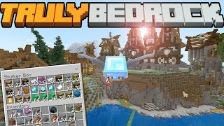 SO MANY REWARDS &  THE FURNACE CHAMBERS!- Truly Bedrock - S1 E24 - Minecraft SMP