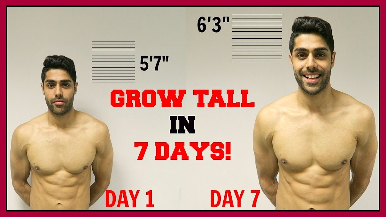how to grow taller in 1 week this really works