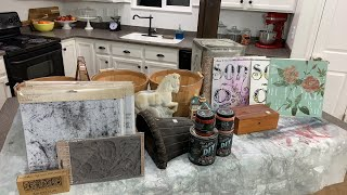🔴 Thrift Store Finds & New IOD Stamps