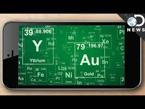 Why It Takes 75 Elements To Make Your Cell Phone