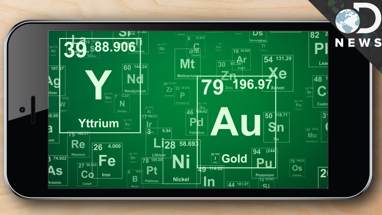 The Periodic Table of iPhone Elements - VICE