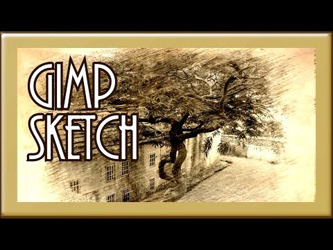 〰️?➰✏️ Gimp Sketch Tutorial Beautify Plugins 〰️?➰✏️ Subscribe ??? thumbnail