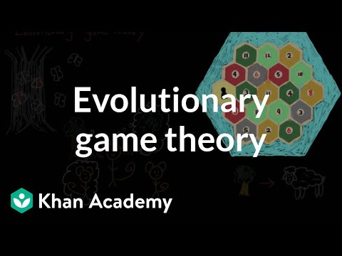 Evolutionary game theory | Individuals and Society | MCAT |