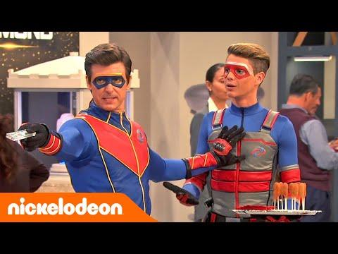 Henry Danger  Momentos Hilariantes 😂  Portugal  Nickelodeon em Português