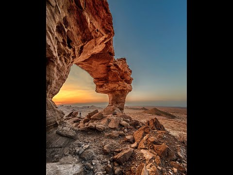 Journey to Natural Arch in Riyadh KSA with Milkyway Photos 360° Video for VR headset