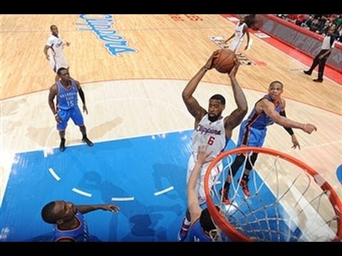 Chris Paul Loses Westbrook with his Handles and Lobs it to Jordan
