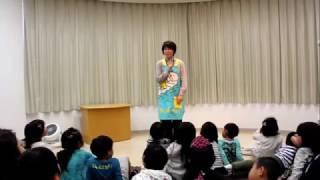 杉戸町町立図書館「おはなしのへや」で、2017年4月22日に開催された「ス...