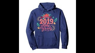 Merry Christmas and Happy New Year Hoodie-Lily 9