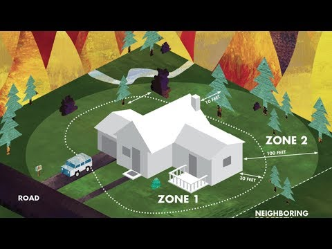 Some steps to protect your home from wildfires