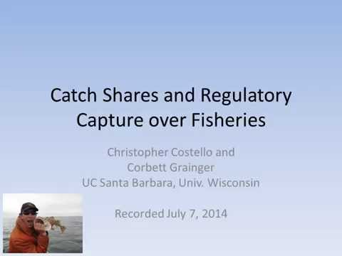 Catch Shares and Regulatory Capture Over Fisheries