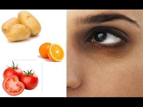 Orange, Potato, Tomato to remove dark circles under eyes ...