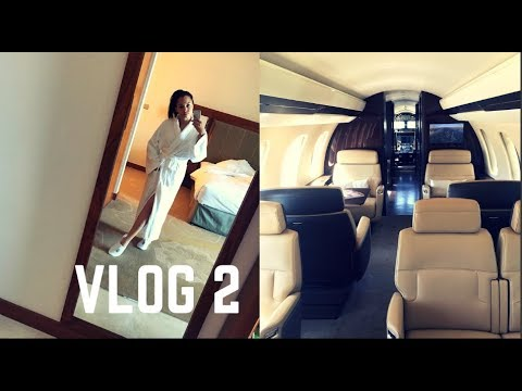 My Life as a PRIVATE Flight Attendant | Vlog 2