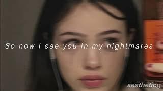 Ellise  Nightmares (lyrics)