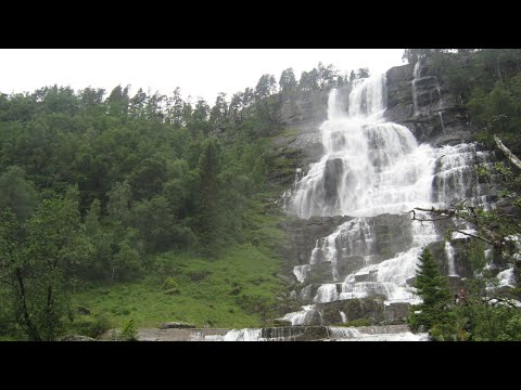 Flam Gudvangen Tvindefoss, Noruega - Travel Video 38