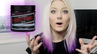 Manic Panic Purple Haze DIP DYE | Katrin Berndt Thumbnail