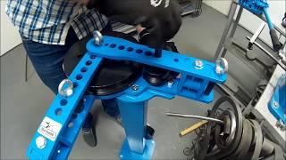 Трубогиб ручной Blacksmith MB32-25 в РАБОТЕ. Согнуть профильную трубу на угол.(, 2017-07-20T11:51:49.000Z)