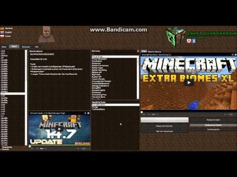Minecraft Version Changer (auto. mod installer)