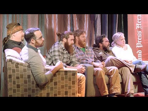 MaineVoices Live featuring Chase Morrill and the Maine Cabin Masters