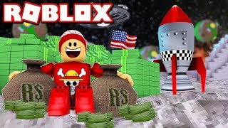 I WENT to the MOON and I was RICHER STILL in ROBLOX 🌙💰 → Billionaire Simulator 🎮