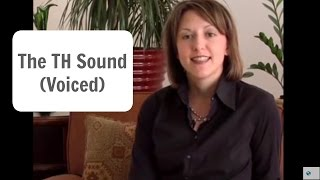 How To Pronounce The English TH Sound (voiced) /ð/- American English Pronunciation Lesson