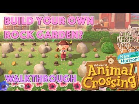 Build Your Own Rock Garden 💖 -【Animal Crossing New ...