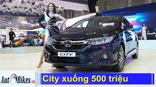 Cuối năm, giá Honda City giảm xuống 500 triệu cạnh tranh Toyota Vios
