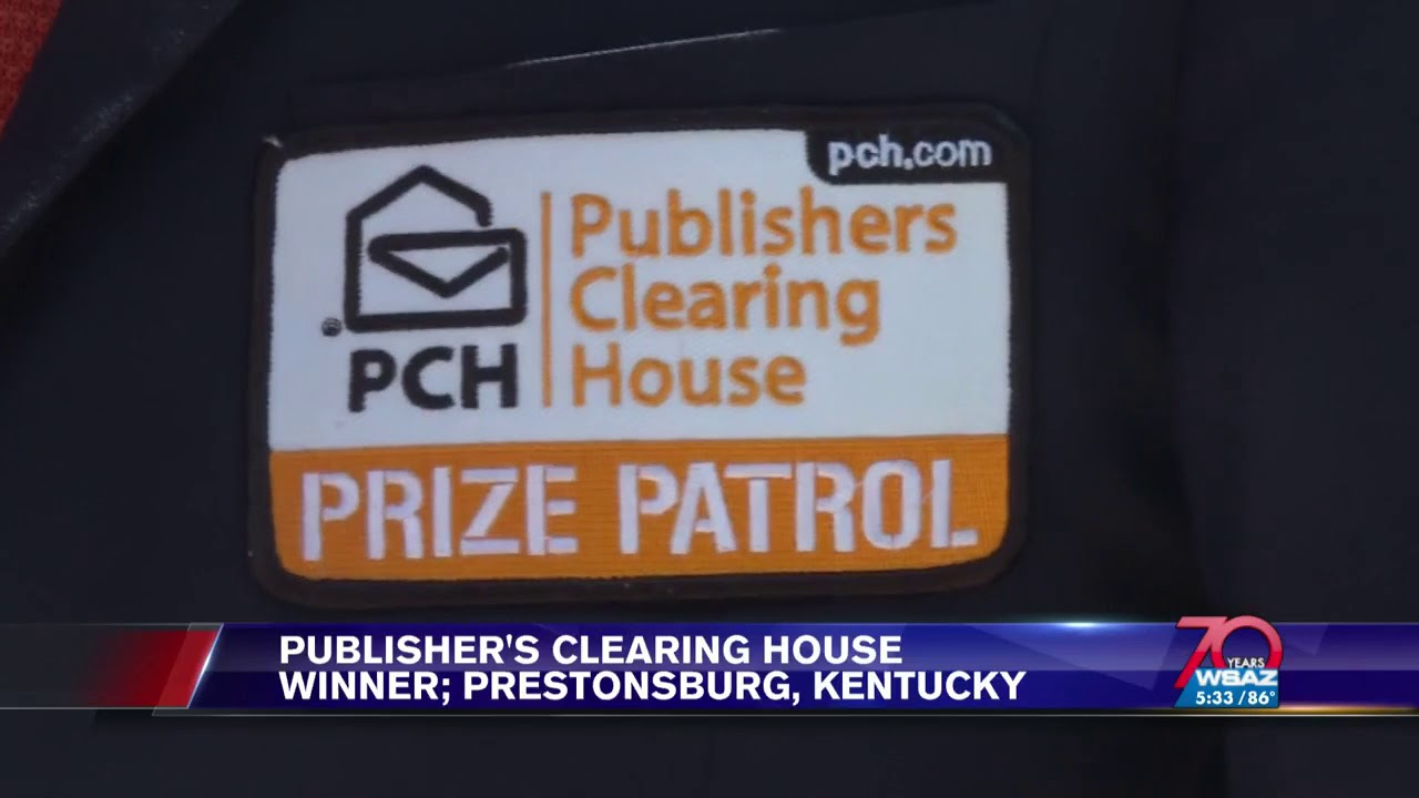 WSAZ Covers Publishers Clearing House $5,000 a Week for Life SuperPrize  Winner Ricky W !