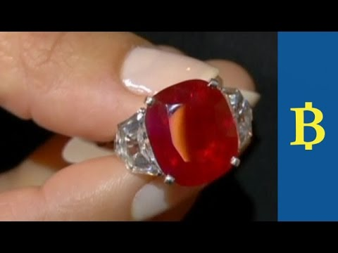 Record Price For A Ruby At Auction In Geneva