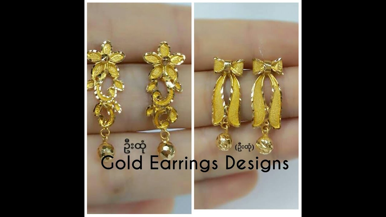 Latest Gold Earrings Designs All New Collection