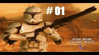 Star Wars the Clone Wars part 01: Prepare for Invasion!