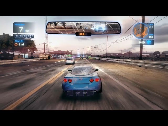 Blur PC Gameplay - Lotus Exige 260 Cup & Chevrolet Corvette ZR1