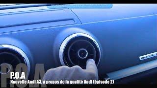 Nouvelle Audi A3 2012 : bienvenue à bord - Essai 2/5